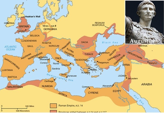Caesar Augustus and his empire